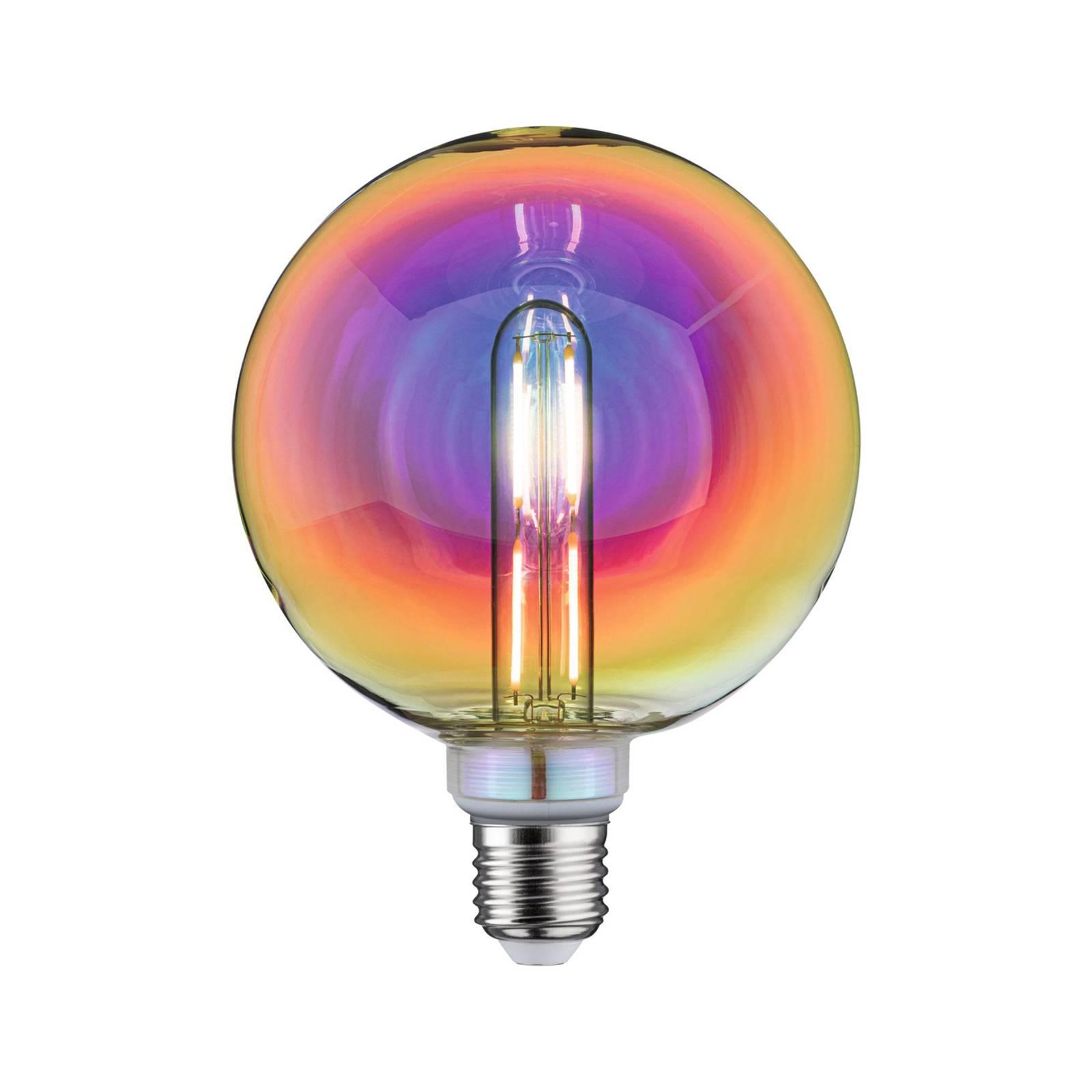 Paulmann LED-lampa E27 5W G125 Fantastic Colors