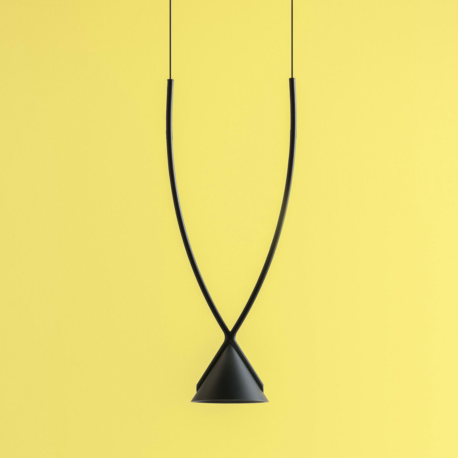 Axolight Jewel LED-hængelampe, 1 lyskilde, sort