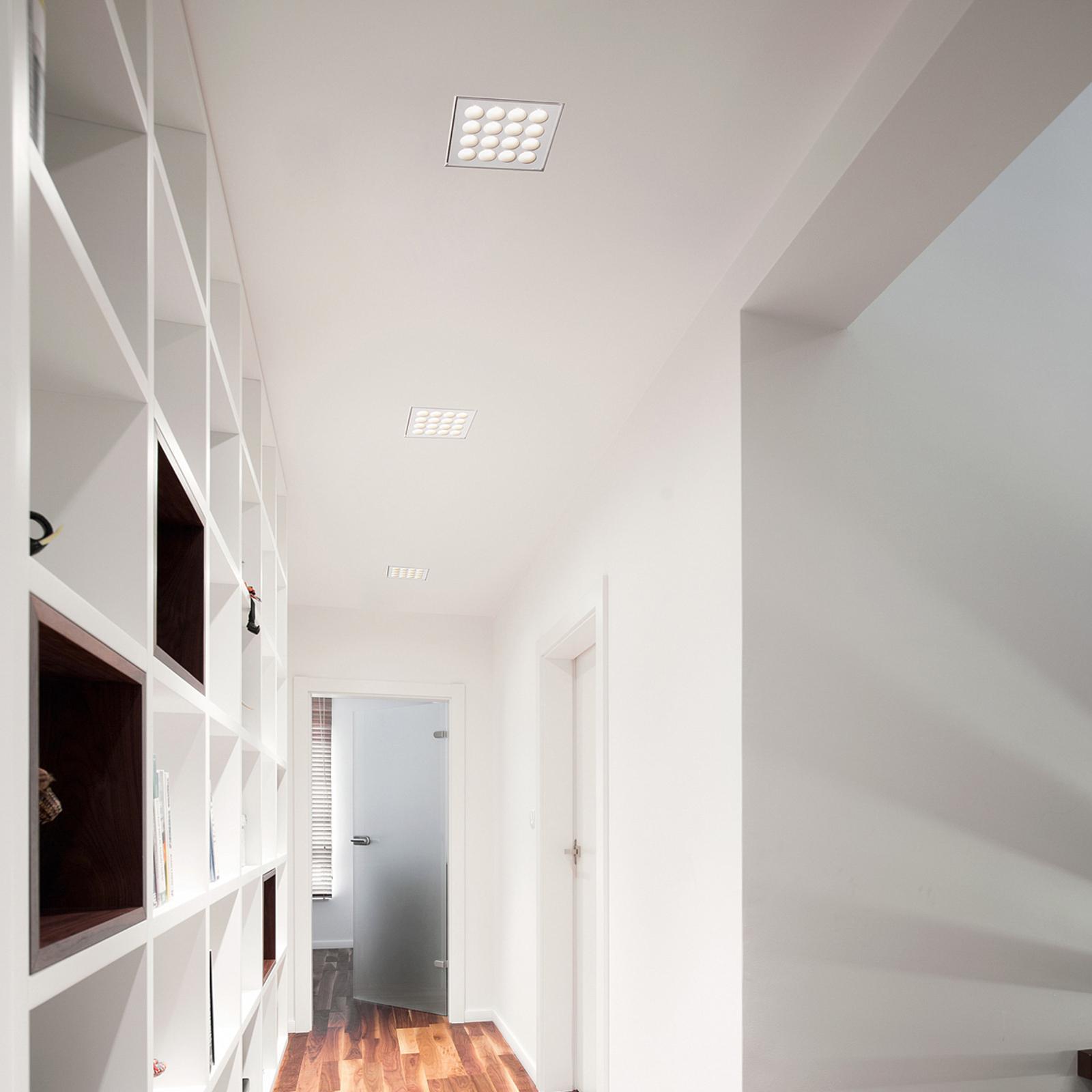 Plafonnier encastré LED Ade T284 - 13cm x 13cm