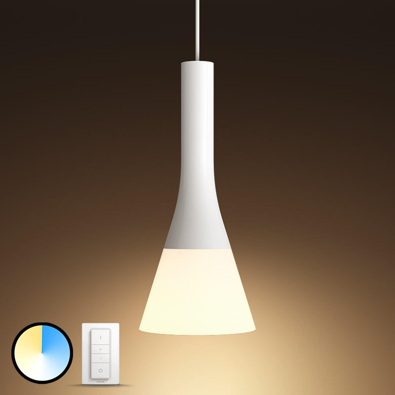 Philips Hue White Ambiance hanglamp dimschakelaar
