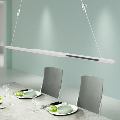 B-Leuchten Blu Sticks suspension LED blanche