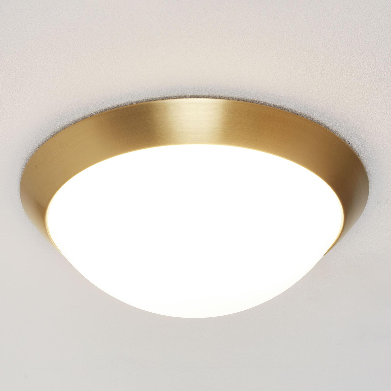 KATRIN - mosiężna lampa sufitowa, IP44