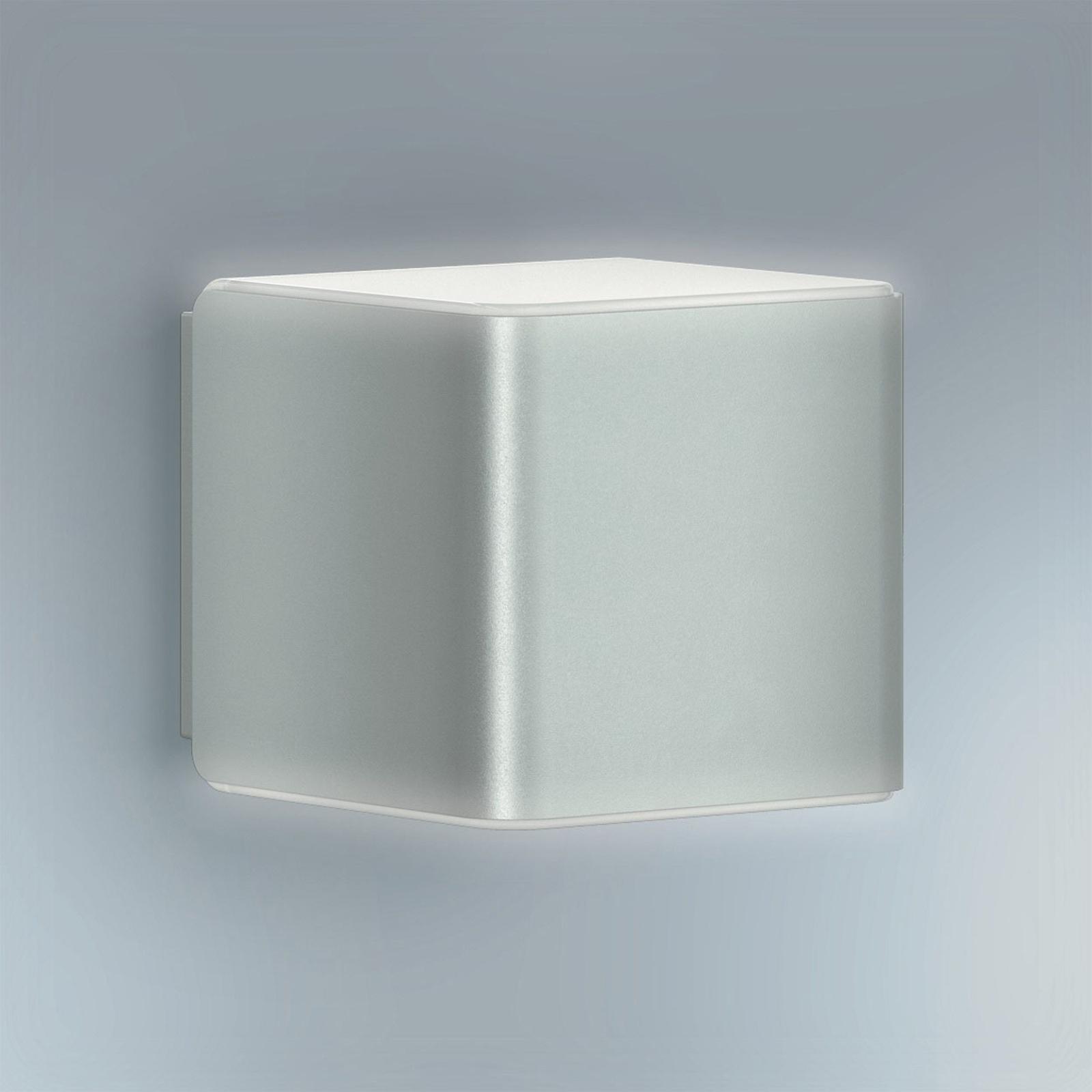 STEINEL L 840 LED iHF utendørs vegglampe, sølv