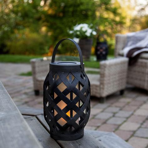 LED-Laterne Flame Lantern, Akku
