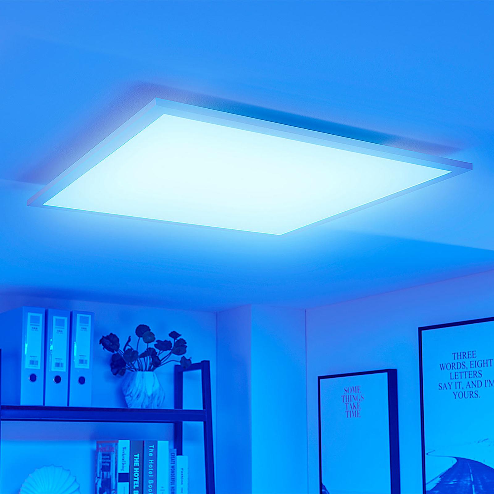 Tinus - fargevekslende LED-panel, RGB og varmhvit