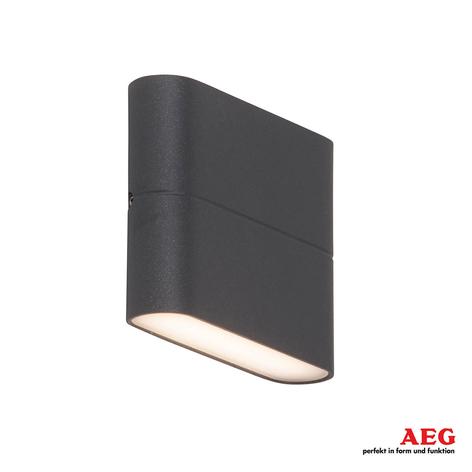 AEG Telesto - LED venkovní nástěnné světlo 11,5 cm