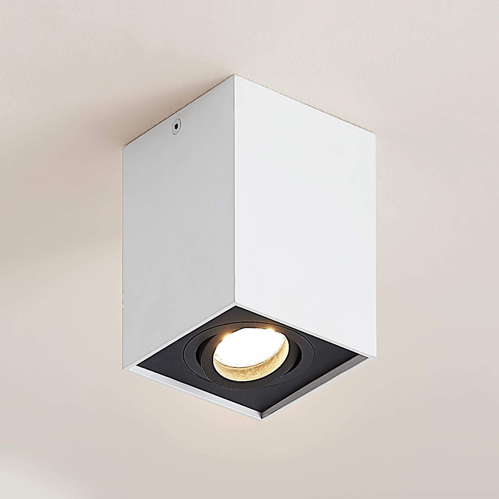 Arcchio Hermalina taklampe, kantet, 1 lyskilde