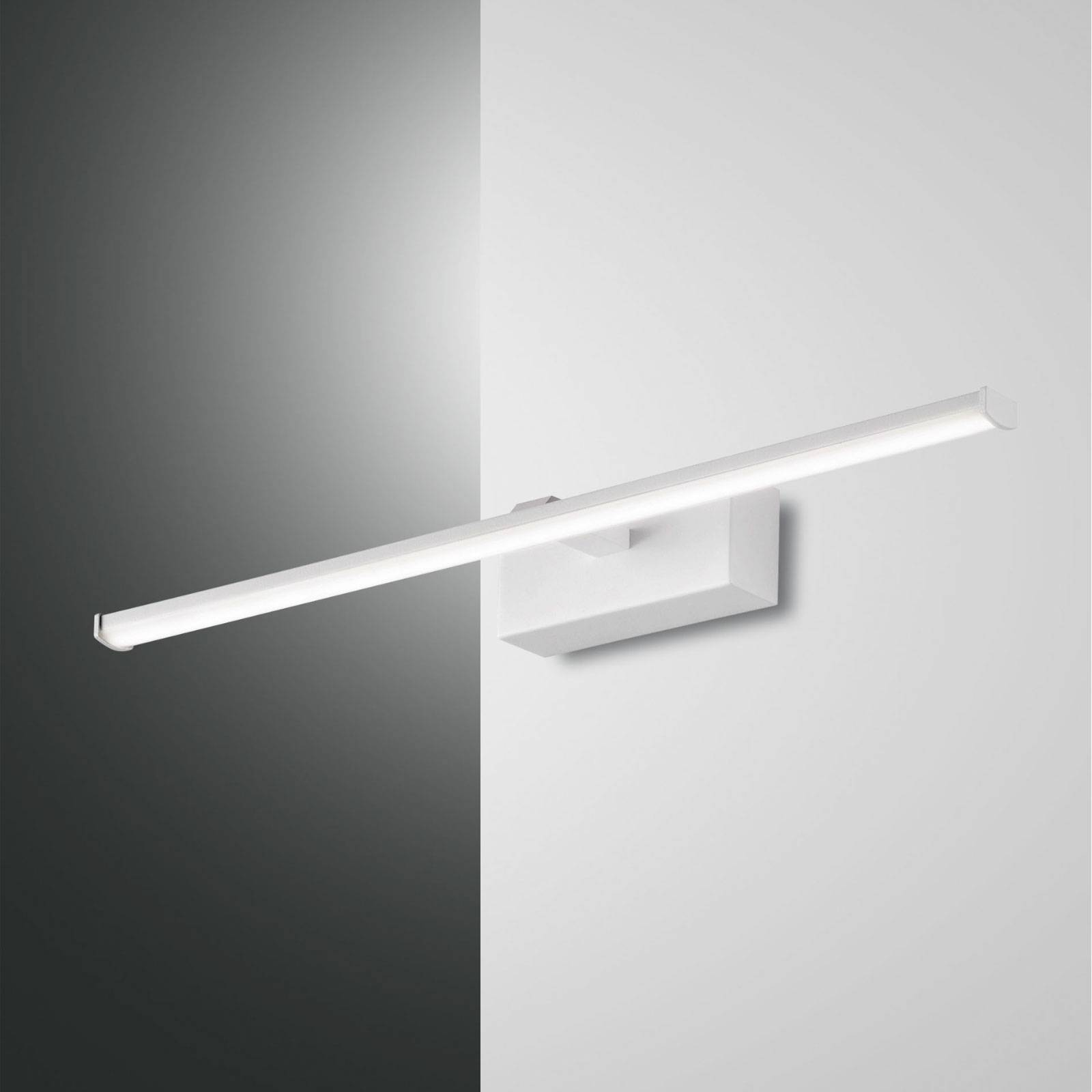 Applique LED Nala, blanche, largeur 50cm