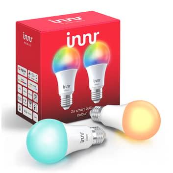 E27 9,5W bombilla LED Innr Smart Bulb Colour 2 uds