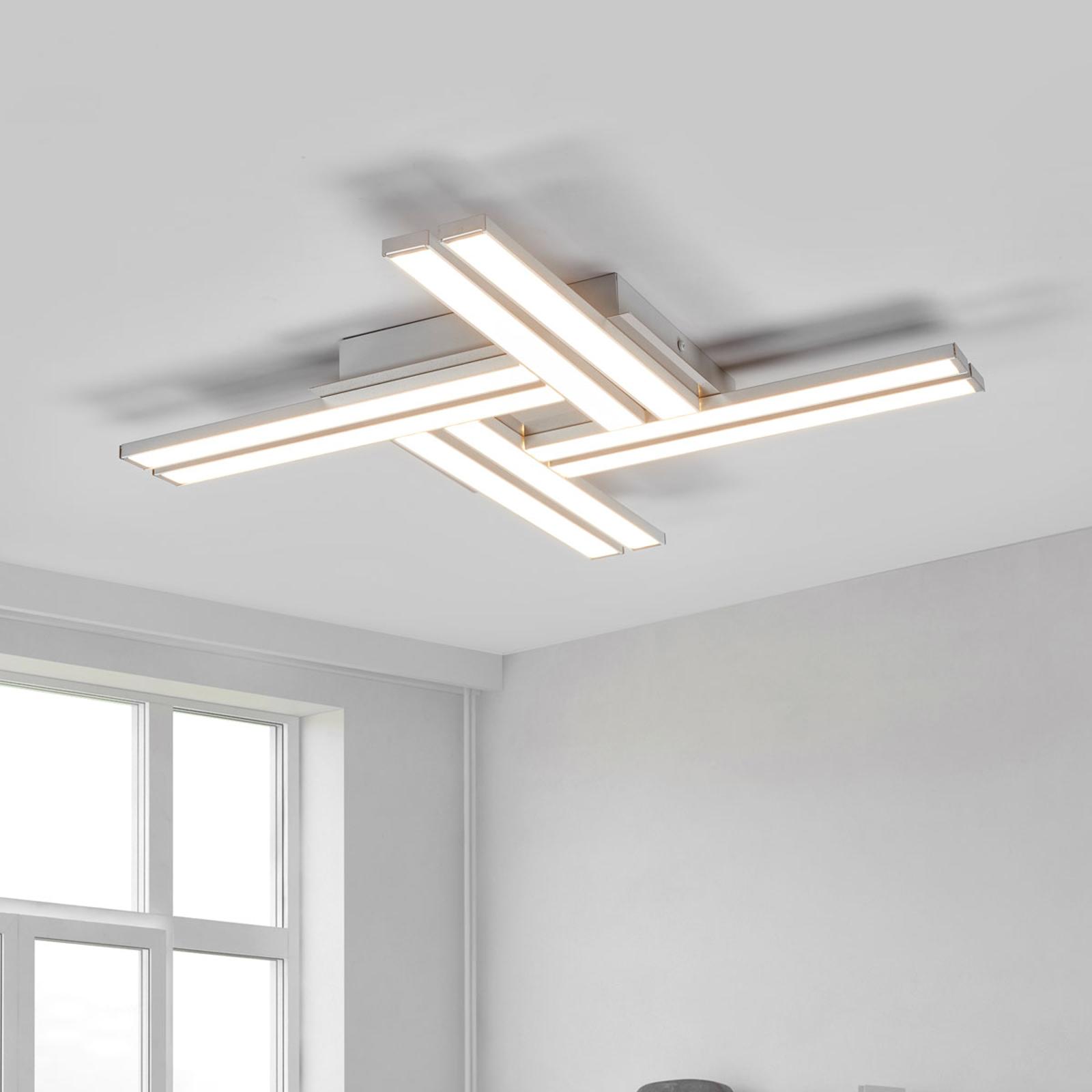 Stylowa lampa sufitowa Largo ze światłem LED