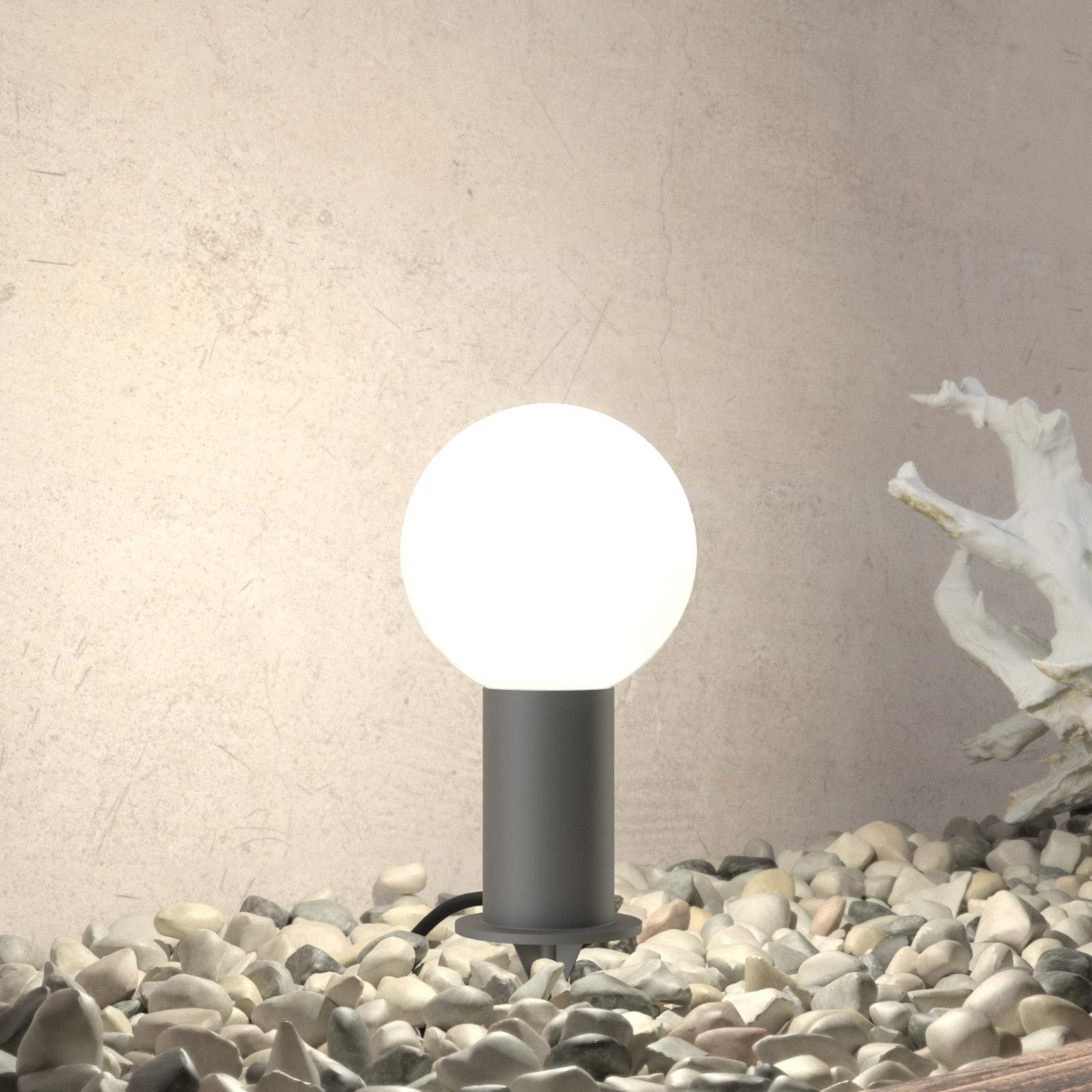 BEGA 55030 - LED-sockellampa med markspett