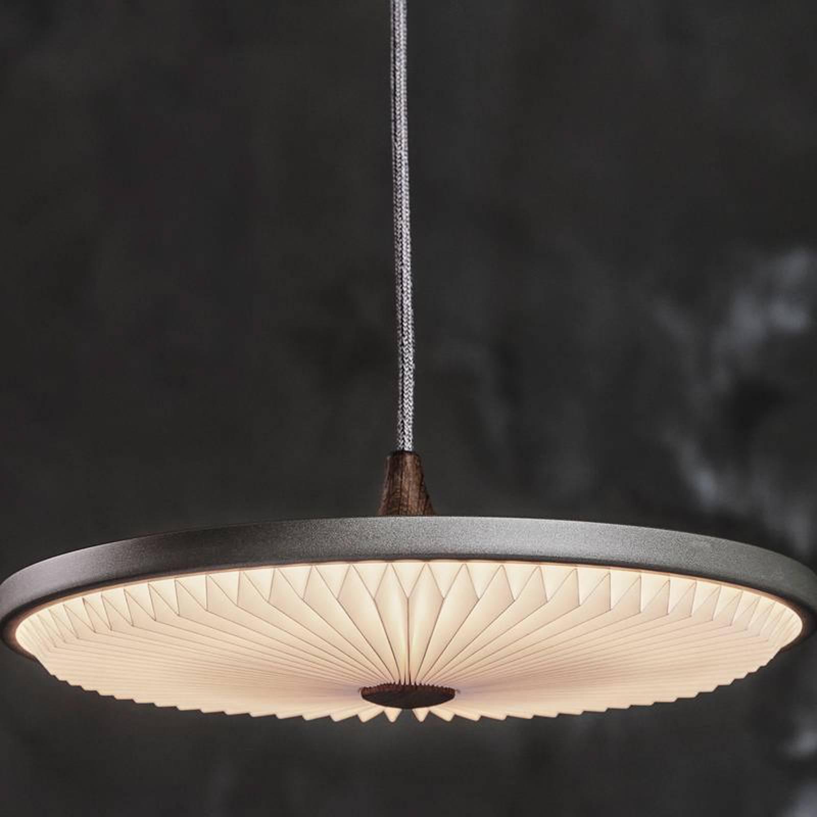 LE KLINT Soleil hanglamp donkergrijs Ø35cm dimbaar