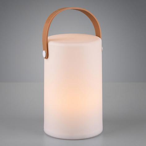 Lampada decorativa da esterni Aruba RGB a batteria
