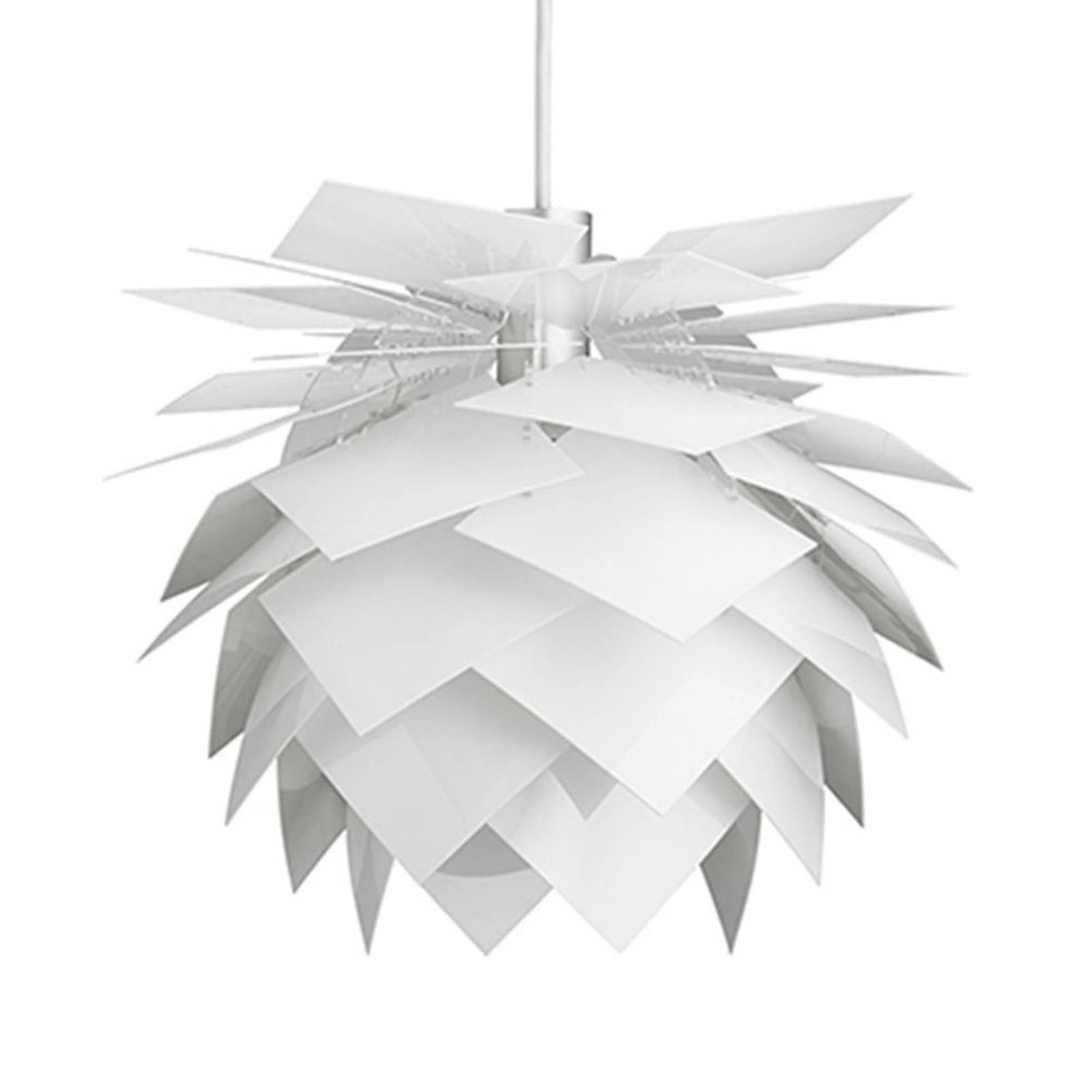 Dyberg Larsen PineApple S Hängeleuchte Ø 35cm weiß