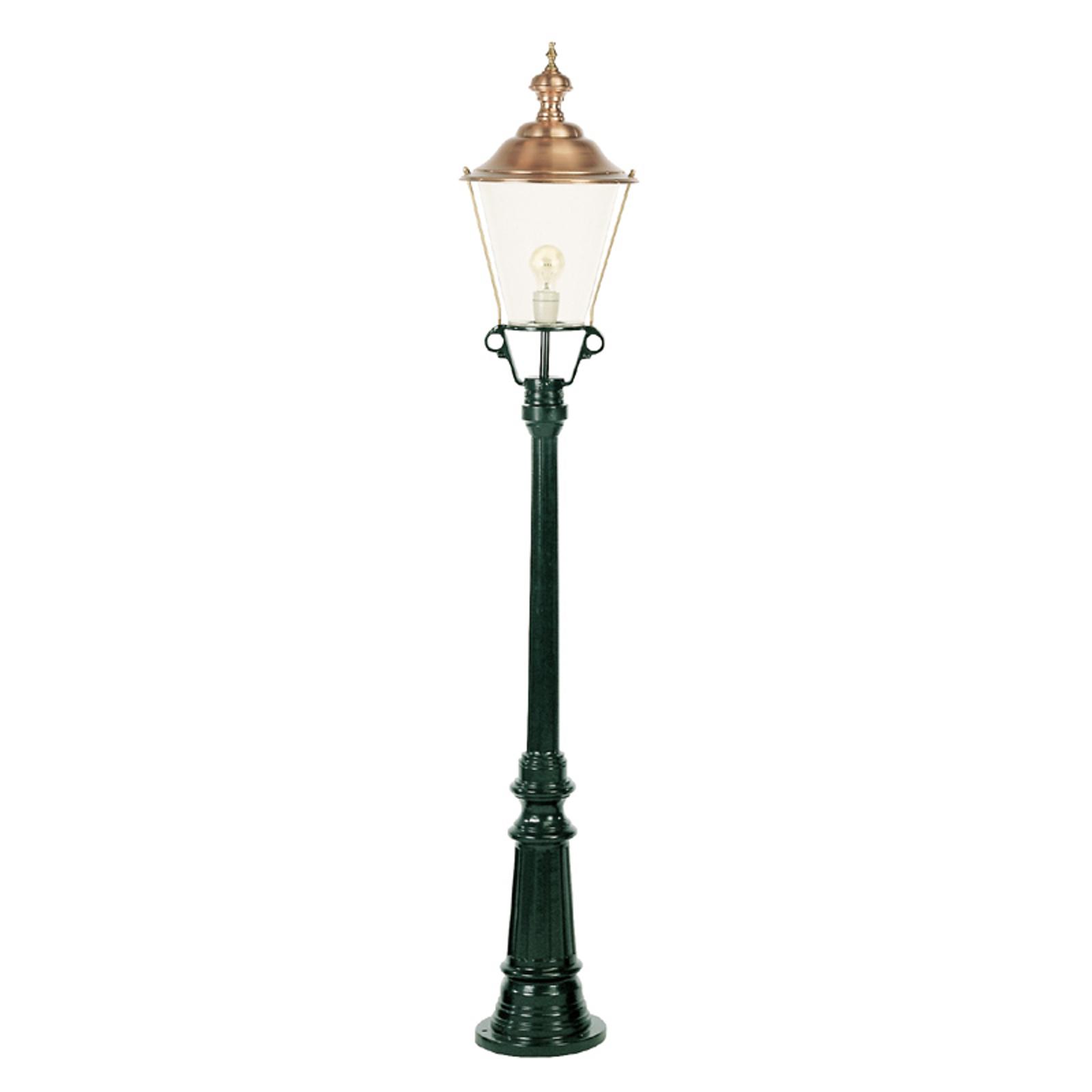 Atrakcyjna latarnia Flores, zielona