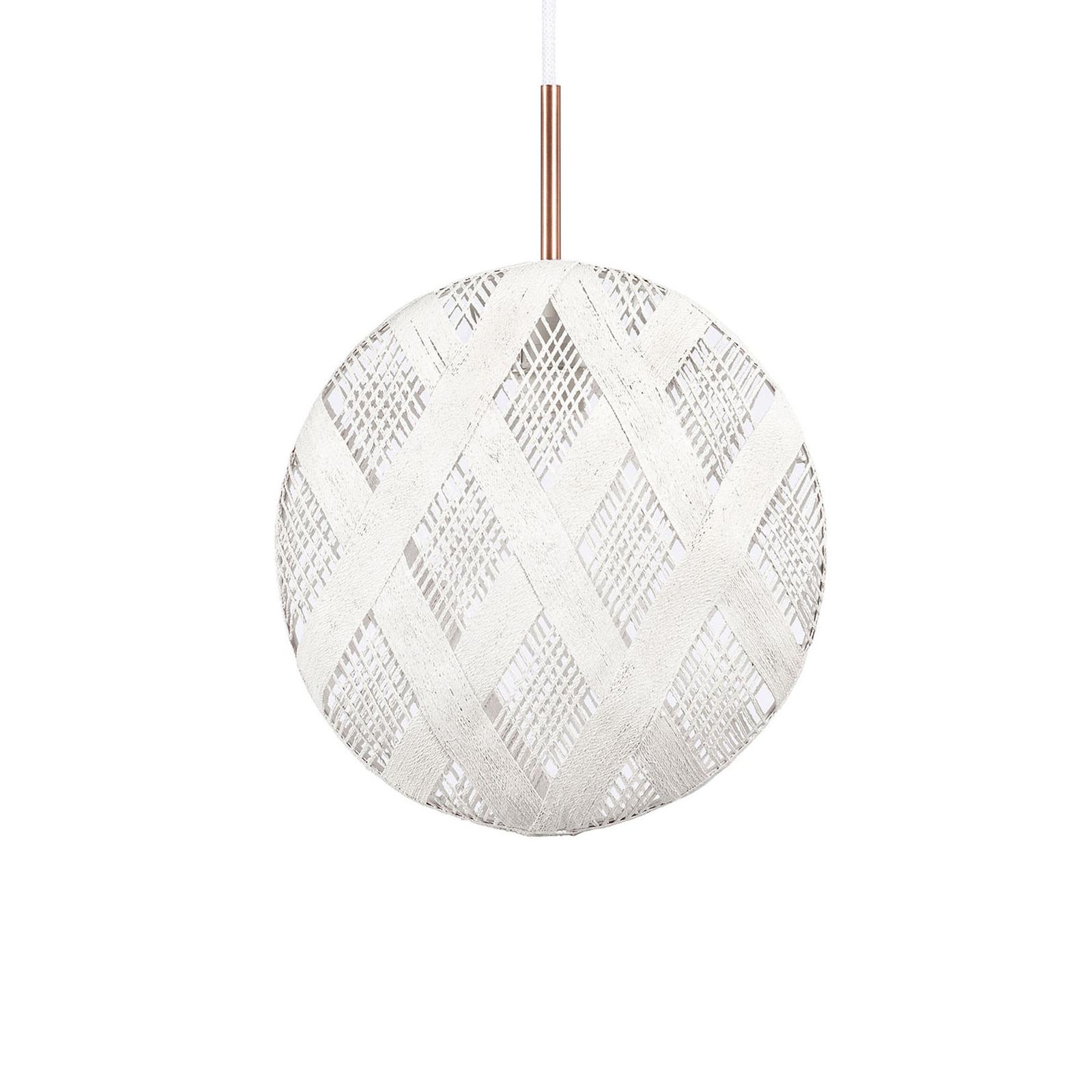 Forestier Chanpen M Diamant hængelampe, hvid