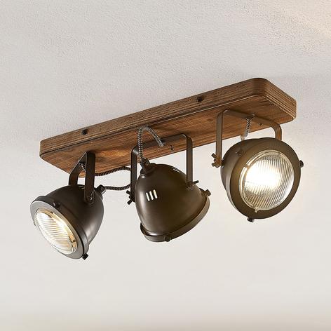 Lindby Shila bodové stropní světlo, třížárovkové
