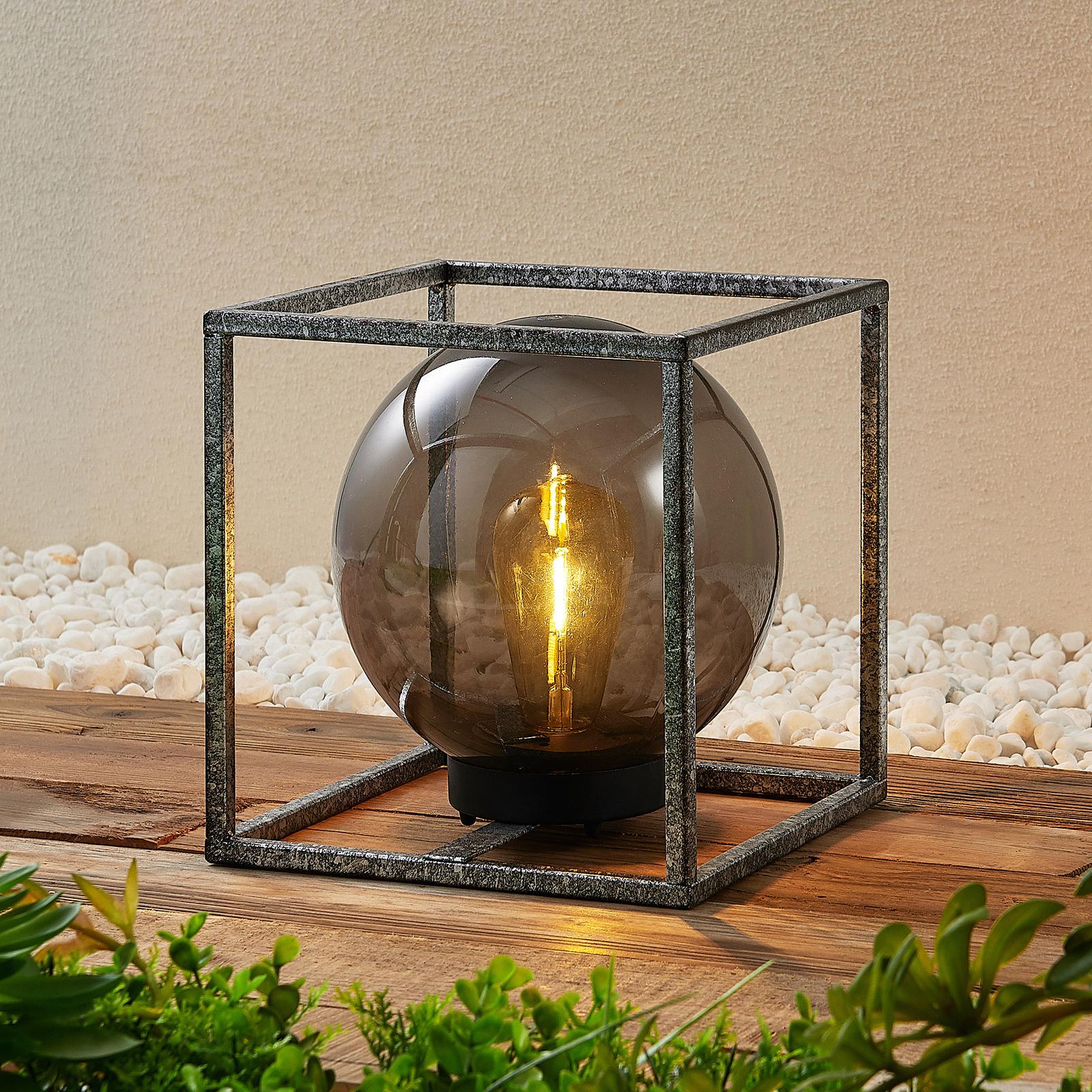 Lindby Purdie - aurinkokäyttöinen LED-valaisin