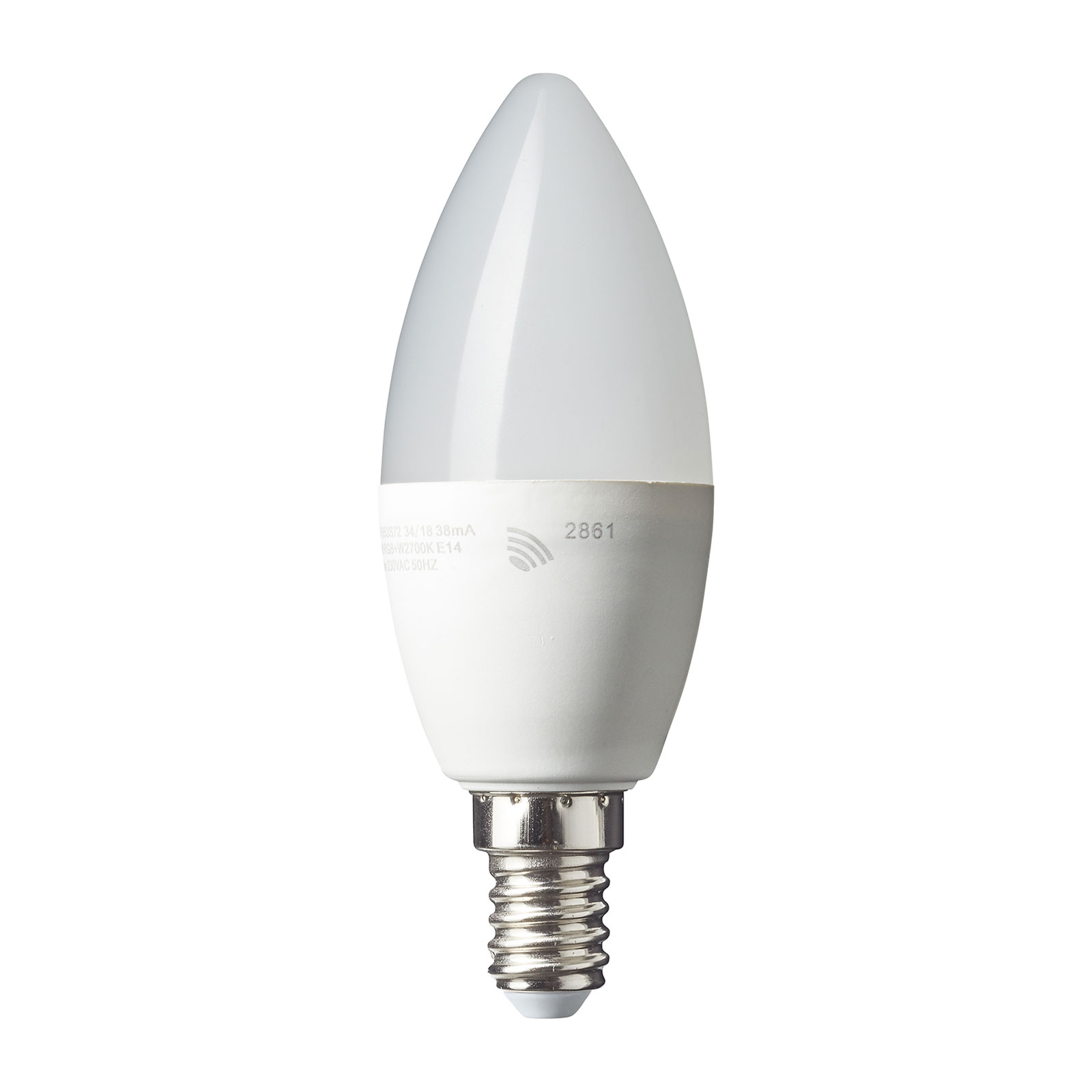 Ampoule flamme LED E14 4,5W Smart-Tuya RGBW