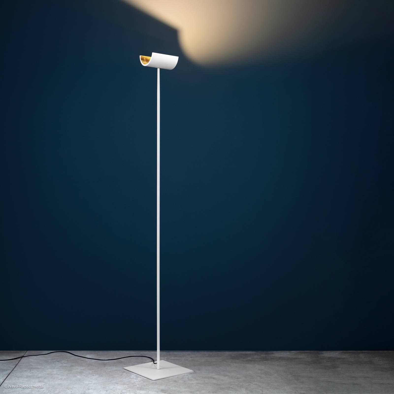 Catellani & Smith U. LED-Stehleuchte weiß