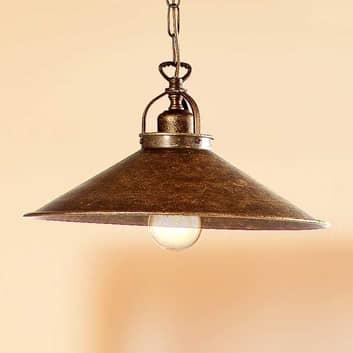 Rustik hængelampe BRUNO