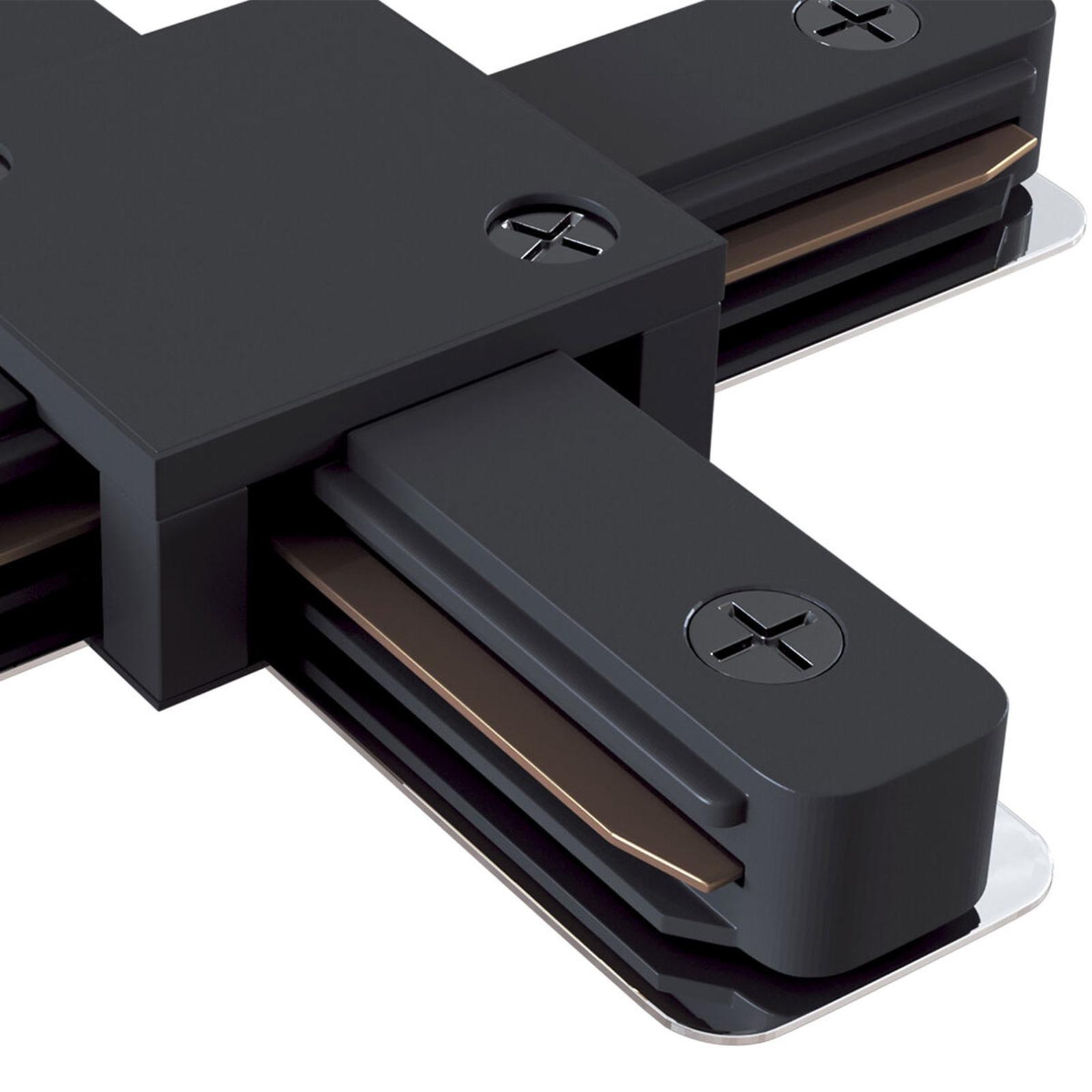 X-Verbinder Track, 1-Phasen-Schiene, schwarz