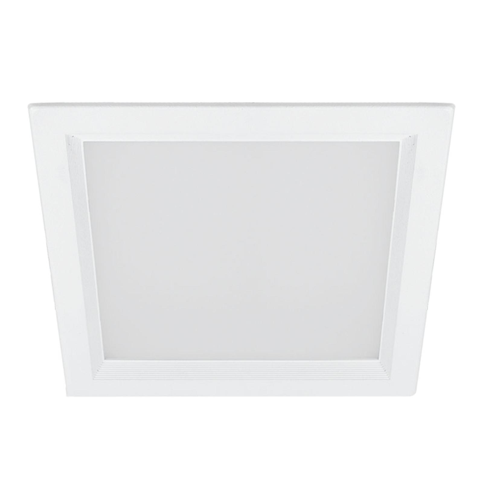LED-Einbauleuchte scota-SDES-O/120 4.000K 12x12cm
