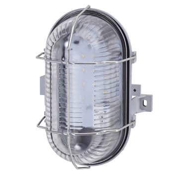 Stöttålig LED-vägglampa Pesch 8 IP44