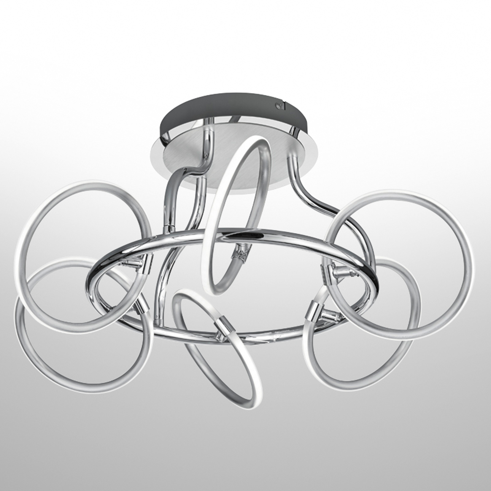 6-punktowa lampa sufitowa LED Olympus