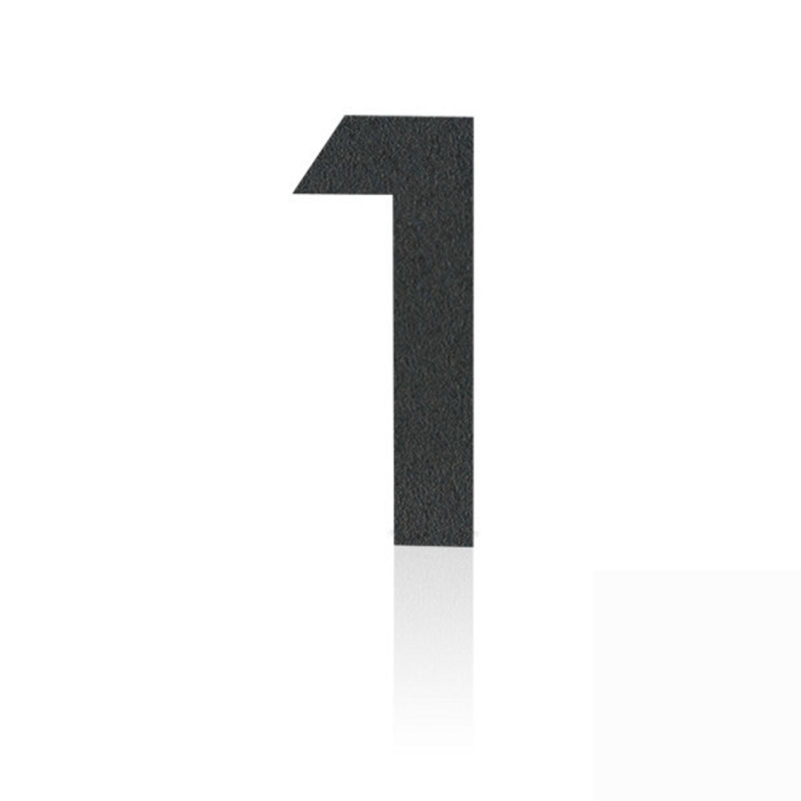 Produktové foto Heibi Nerezová domovní čísla číslice 1, grafit šedý
