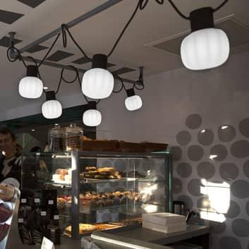 Martinelli Luce Kiki -ulkovaloketju, 10-lamppuinen