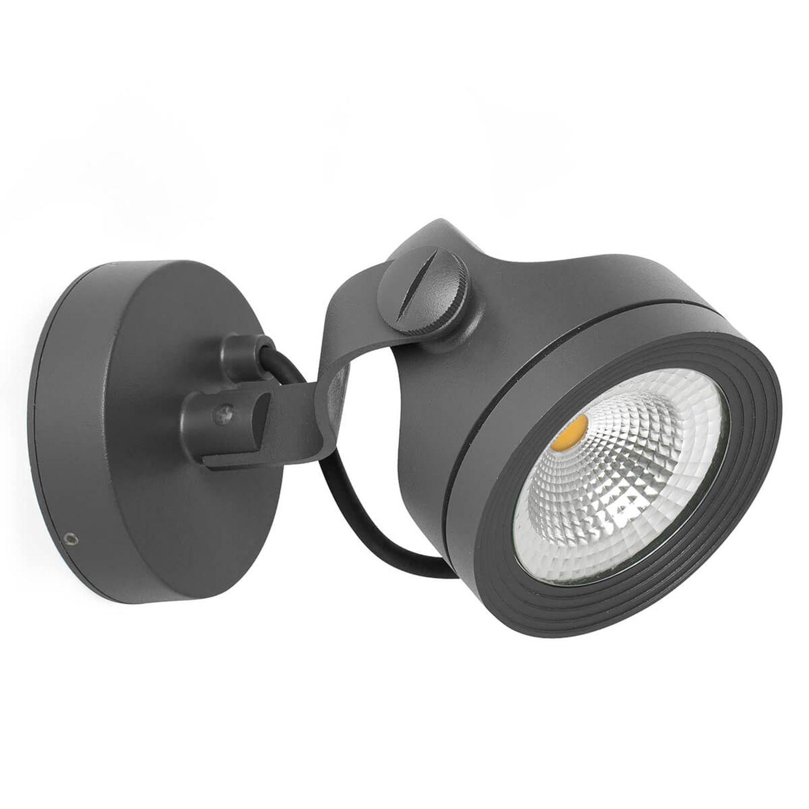 Alfa – zewnętrzny reflektor ścienny LED, IP65