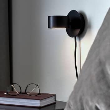 LED-Wandleuchte Clyde mit Stecker und Dimmer