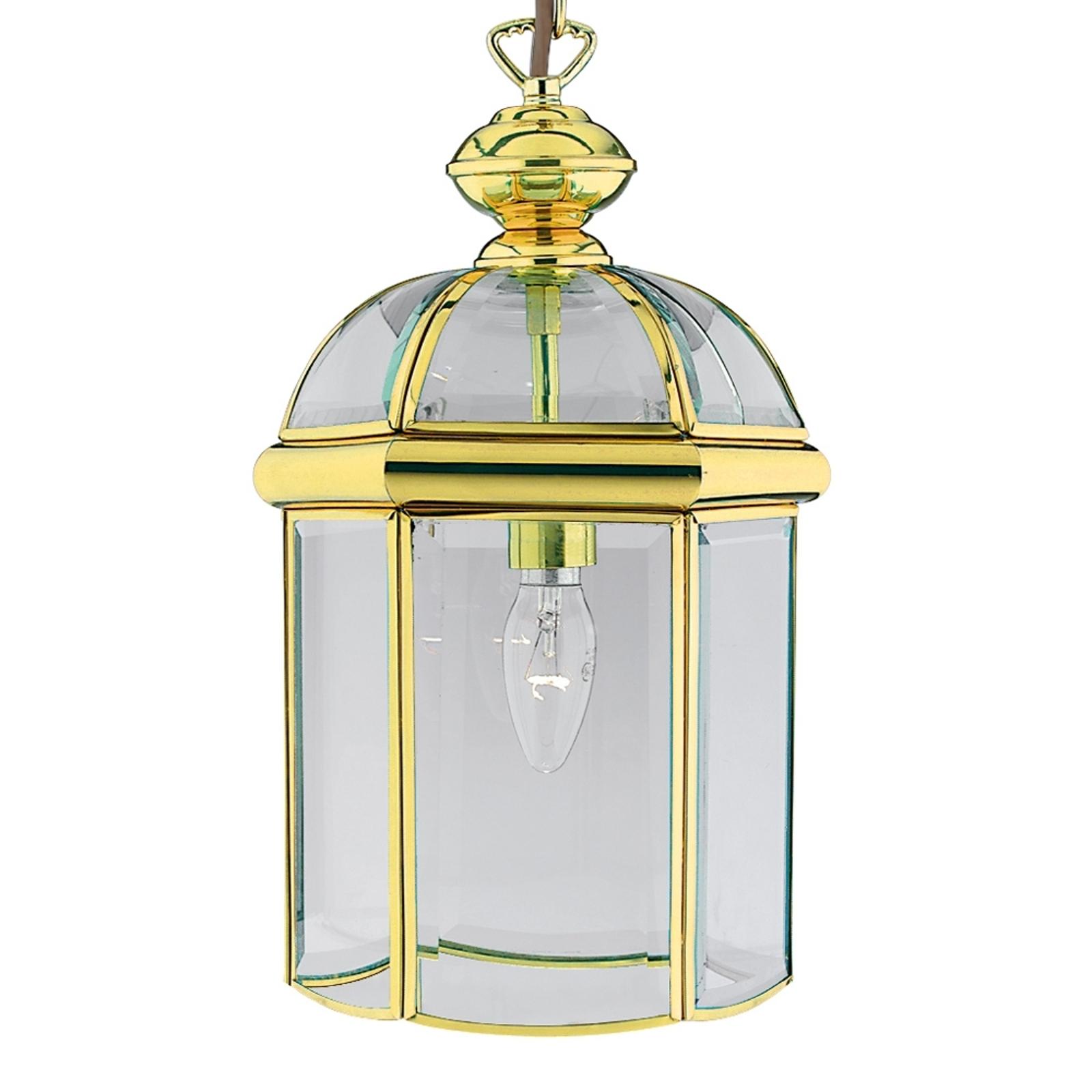 Lśniąca lampa wisząca ARLIND, kolor mosiądzu