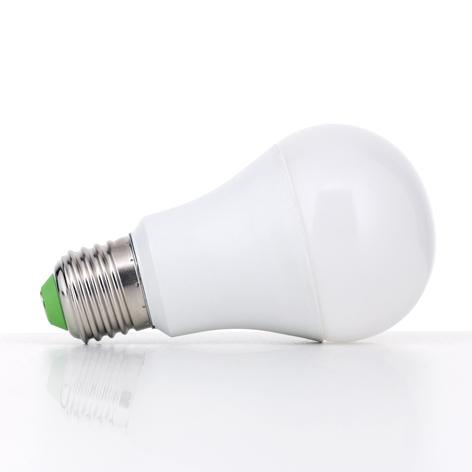 LED-Lampe E27 A60 14W LED opal 827 dimmbar