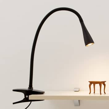 Ranke LED-klemlamp Baris, zwart