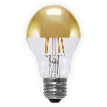 Ampoule LED à tête miroir E27 4W 926, dorée