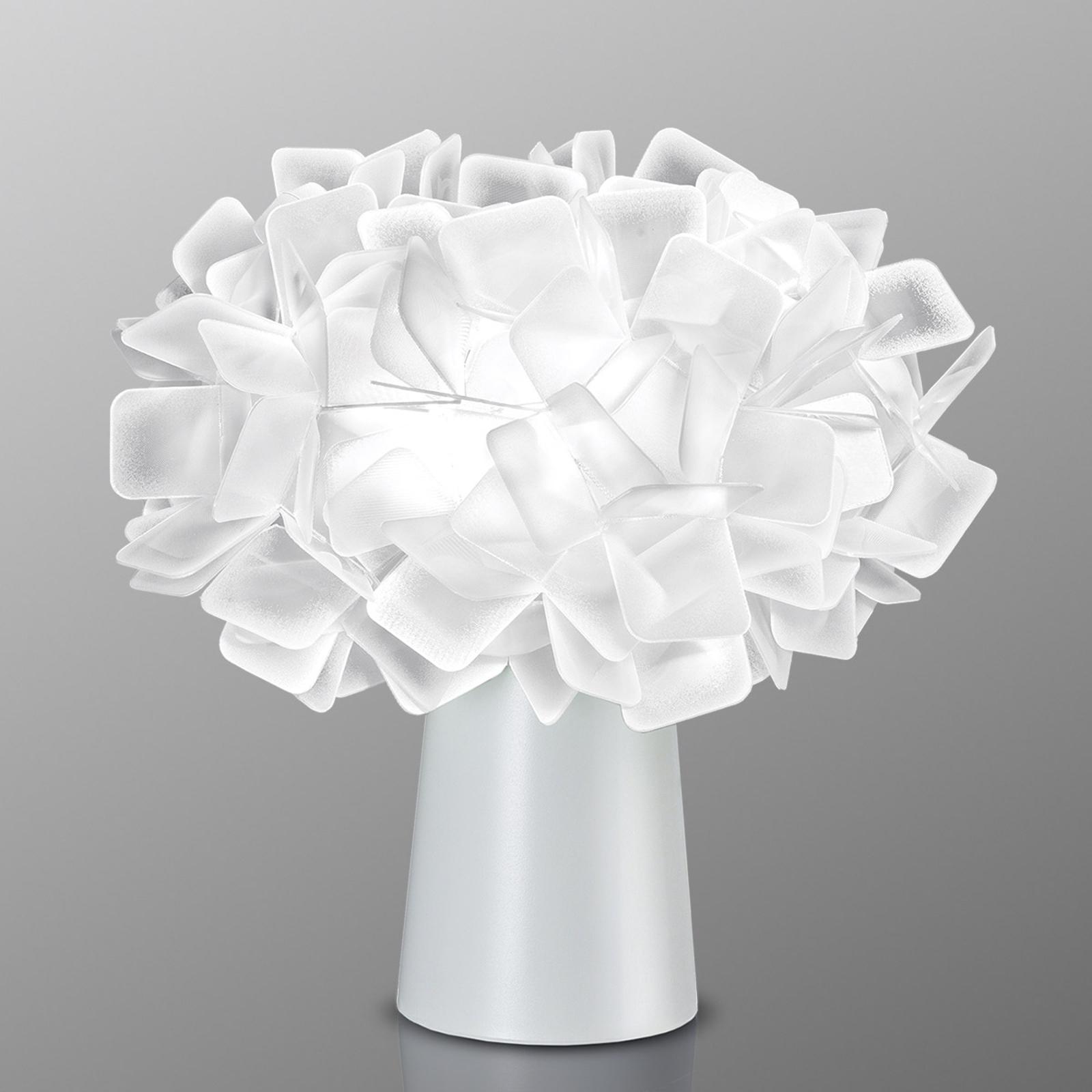 Slamp Clizia - Designer-Tischleuchte, opal