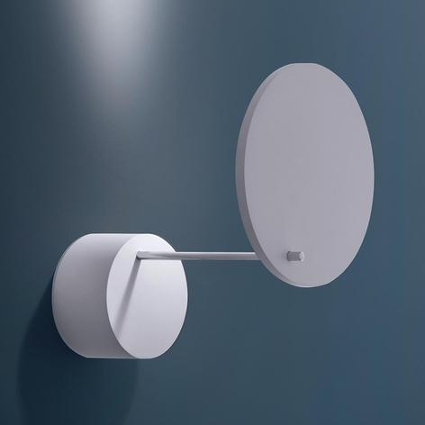 Valkoinen LED-seinävalaisin Orbiter