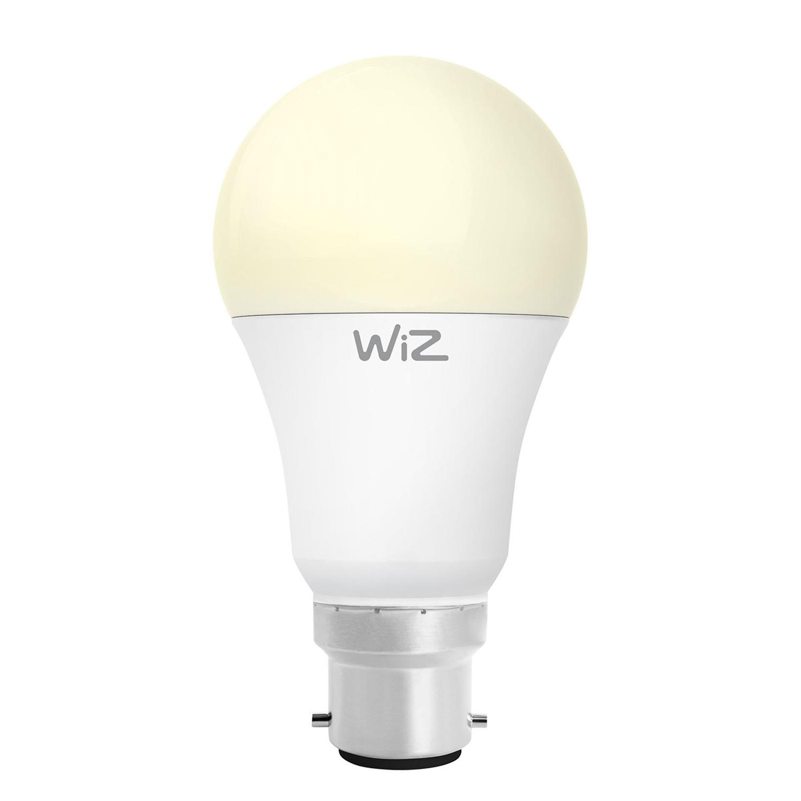 WiZ B22 LED-Lampe Birne A60 matt 9W 2.700K
