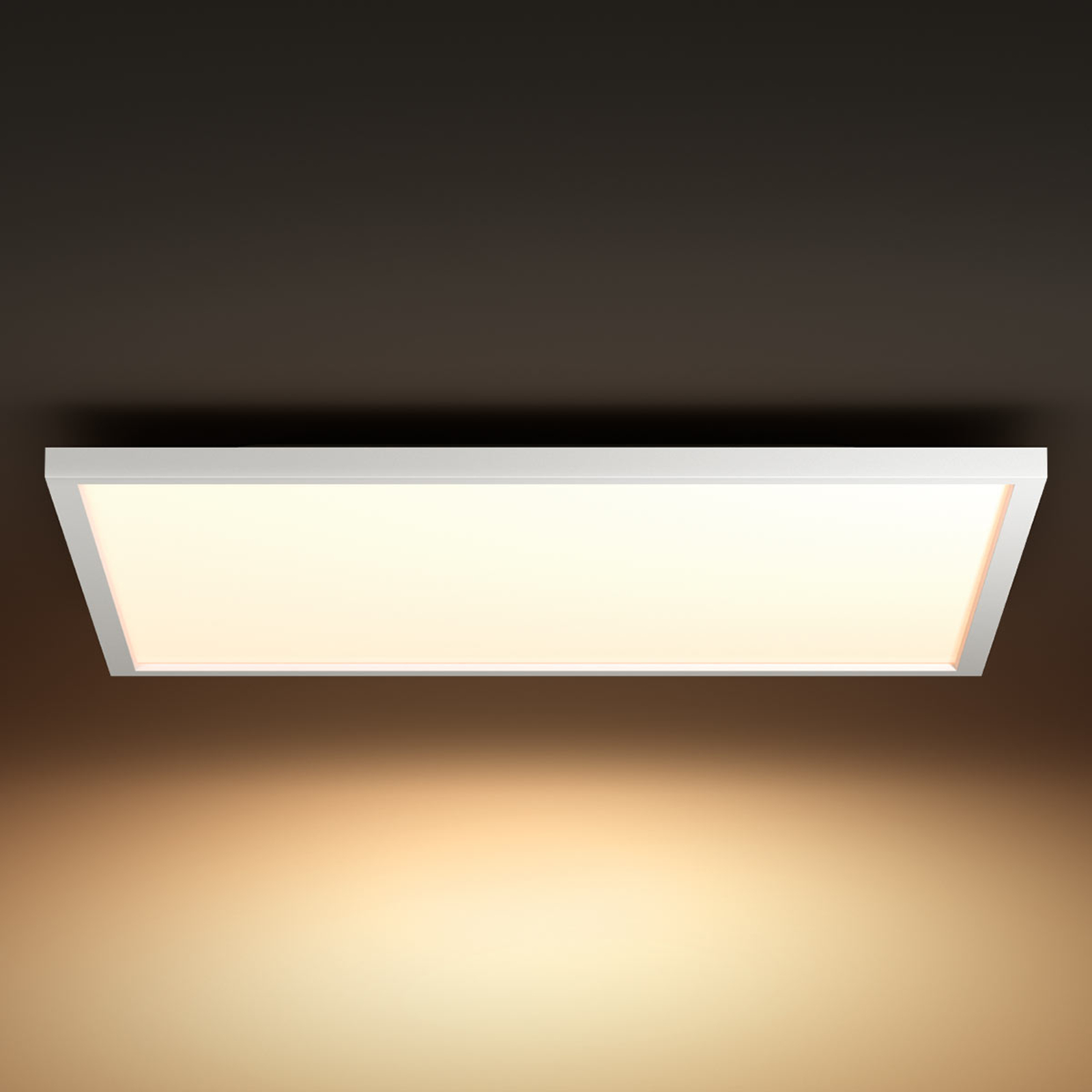 Philips Hue Aurelle LED-panel kantet 60 x 60cm