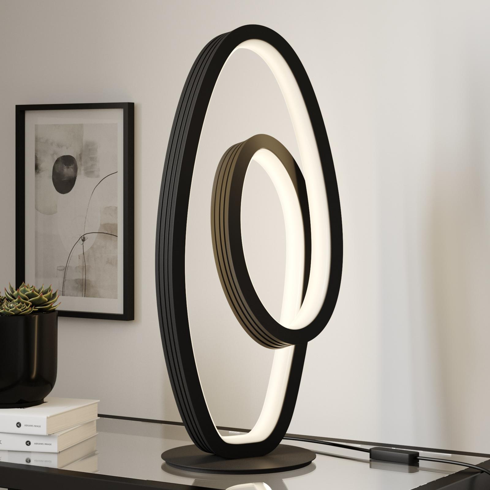 Lucande Bronwyn LED-Tischleuchte