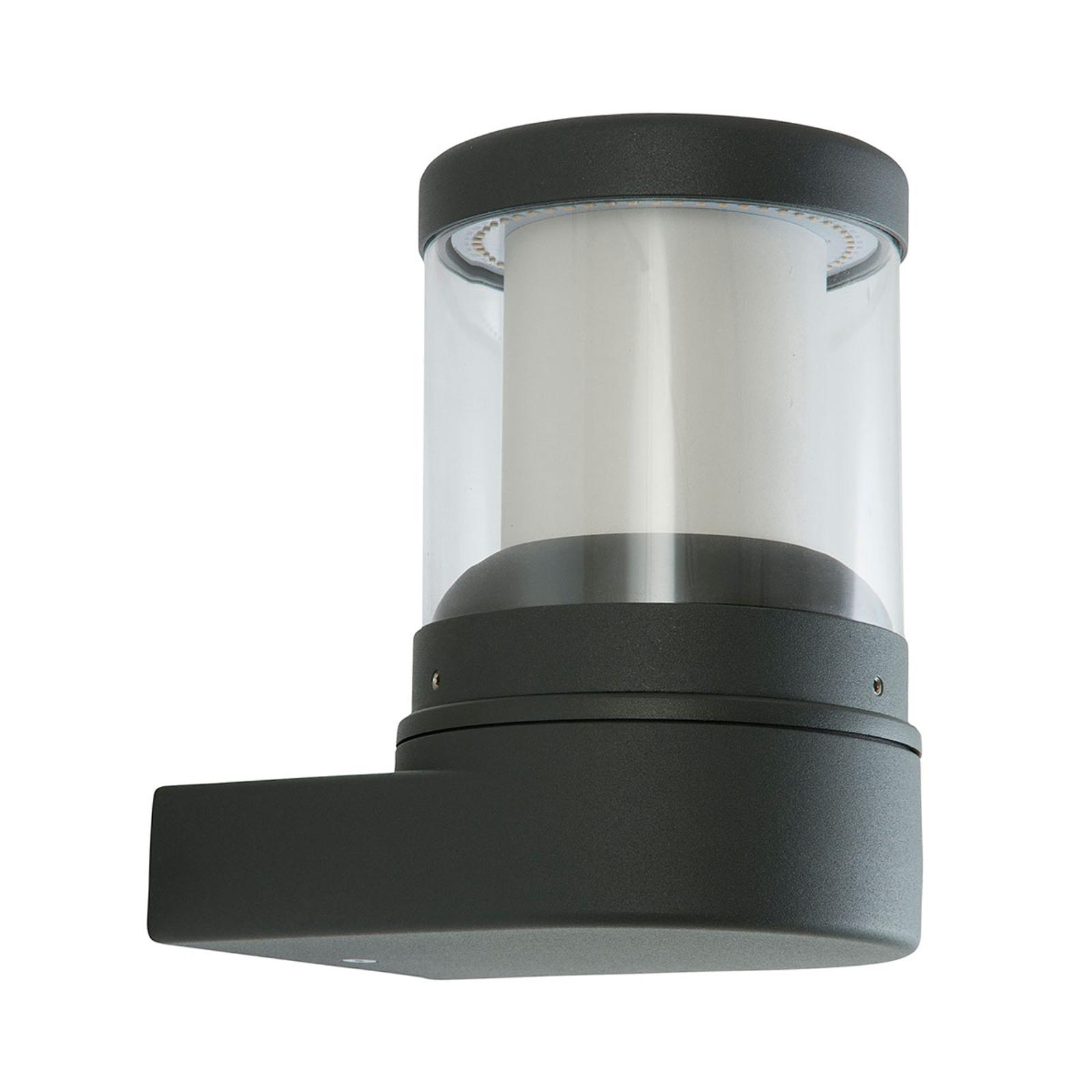 LED-Außenwandleuchte Levent graphit
