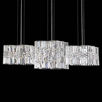 Swarovski Selene LED-hänglampa kristall, 100 cm