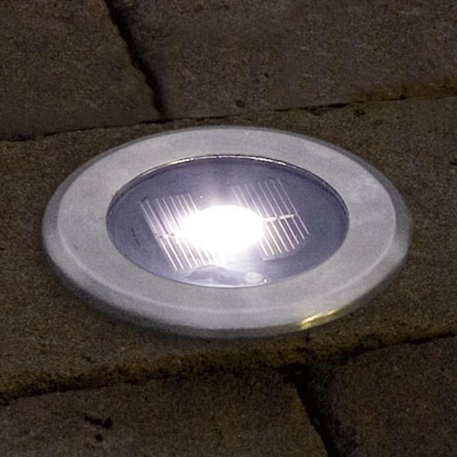 Nützliche Bodeneinbauleuchte SOLAR LIGHT LED