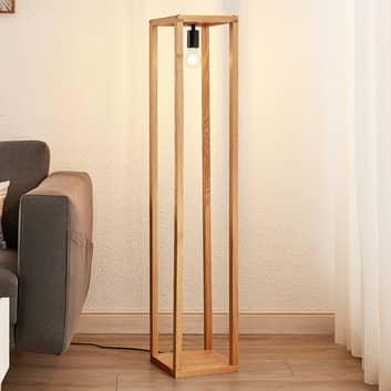 Lucande Sedrik lámpara de pie en forma de caja