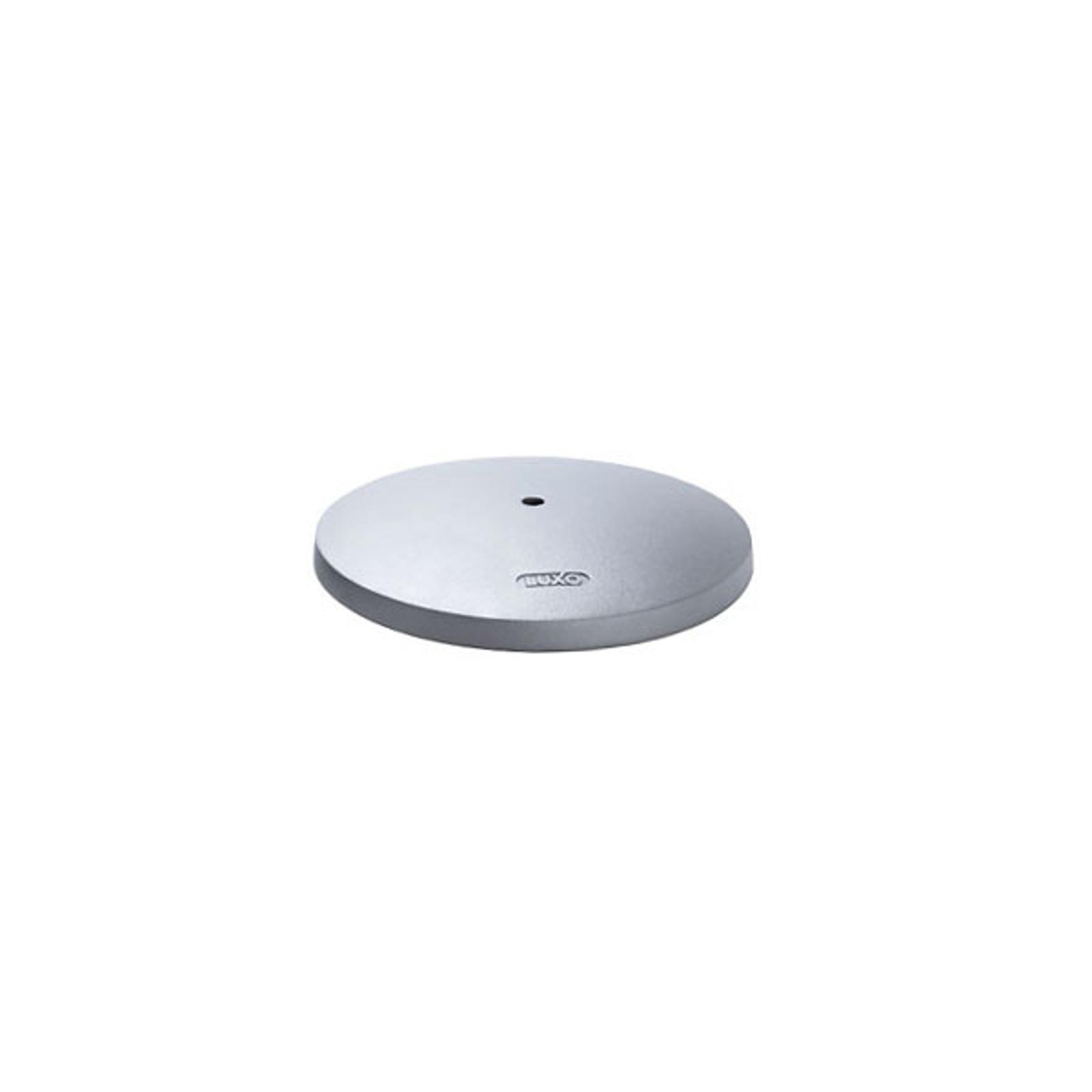 Tafelvoet bij tafellamp Air LED, aluminiumgrijs