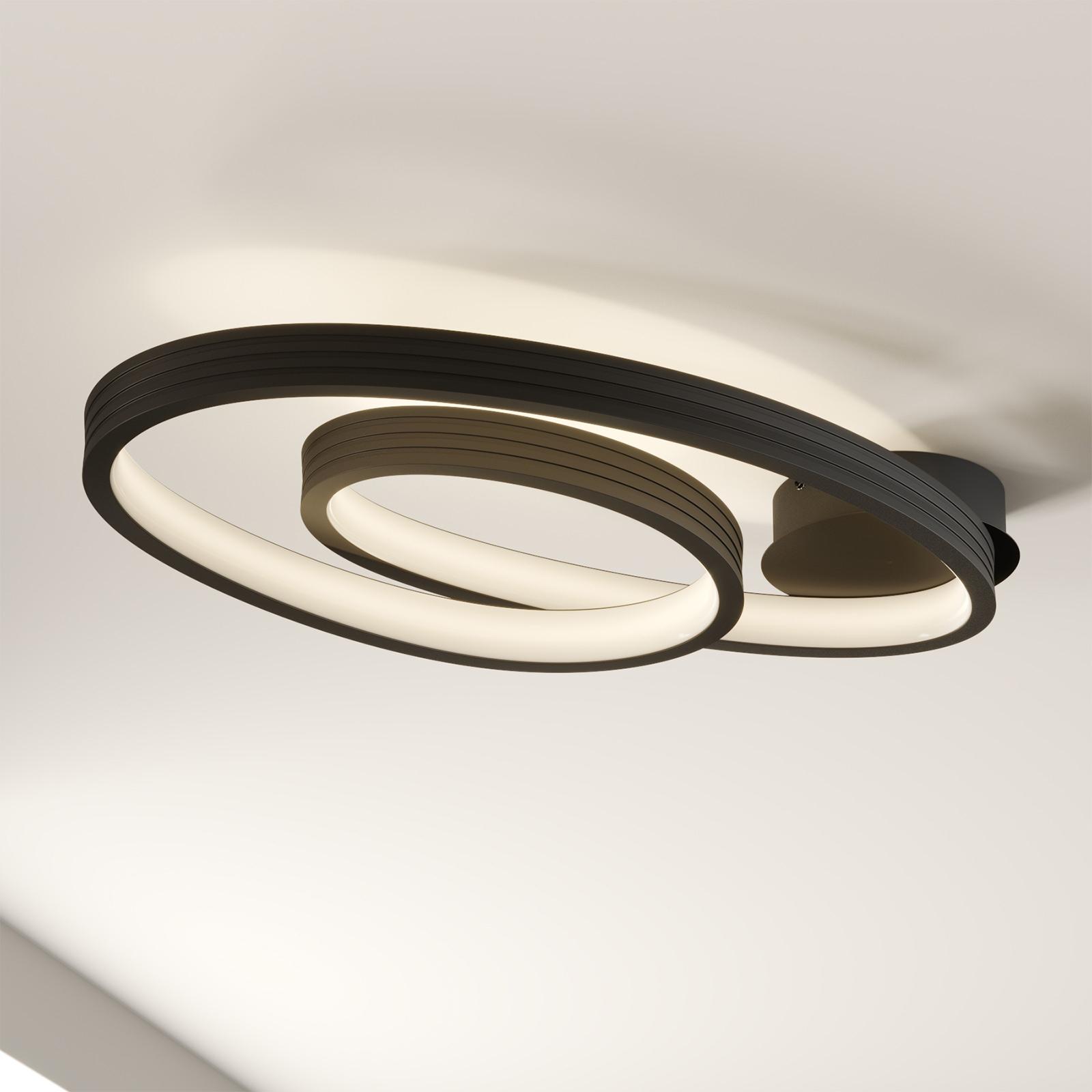 Acquista Lucande Bronwyn plafoniera LED, 72,5 cm