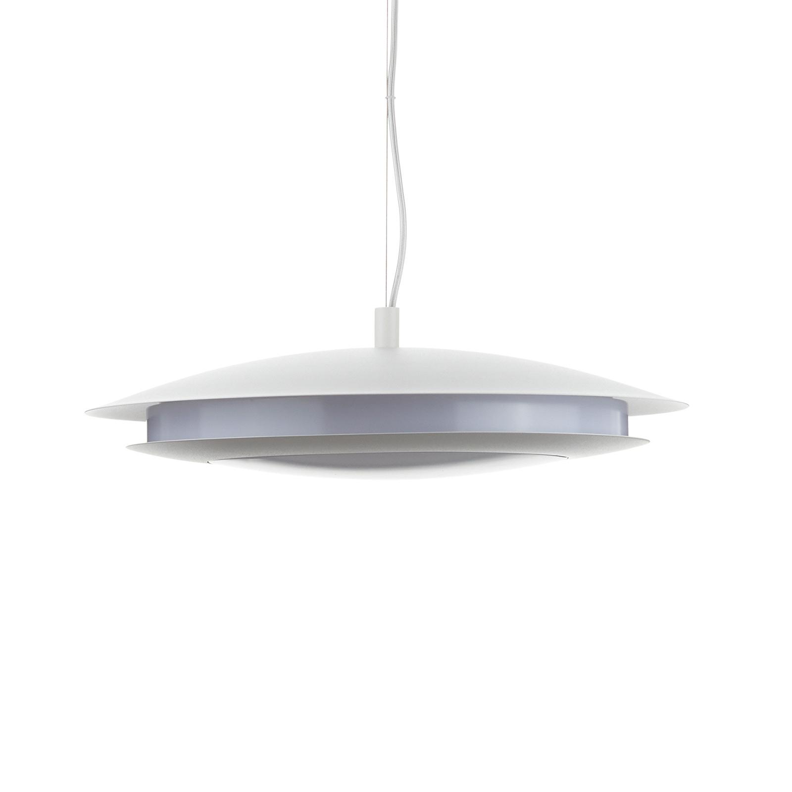 EGLO connect Moneva-C LED-Hängelampe weiß Ø 48,5