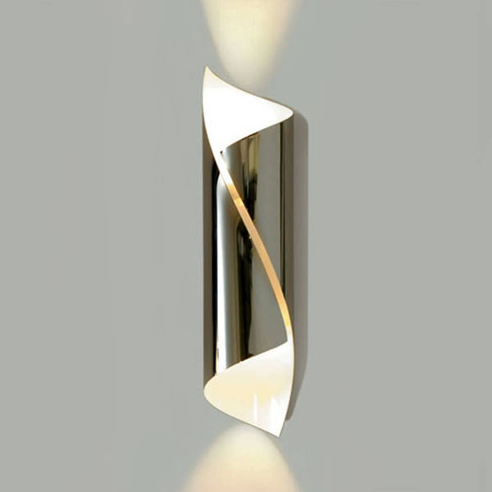 Knikerboker Hué LED-Wandleuchte Höhe 54 cm chrom